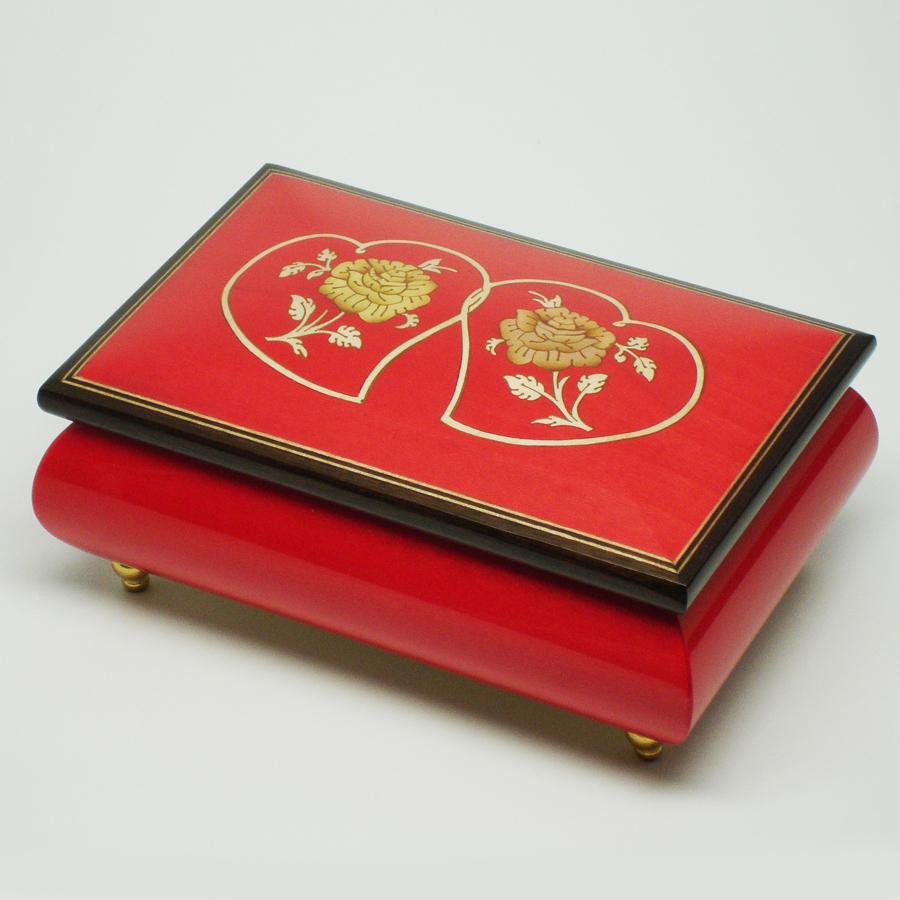 Italian-Inlay-Jewelry-Box-Double-Heart-Red