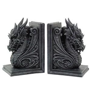 Dragon-Bookend-Set
