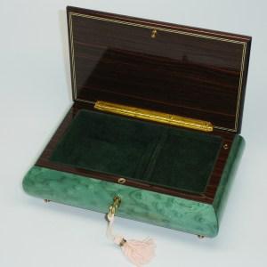 Italian-Inlay-Jewelry-Box-Sea-Foam-Green-open