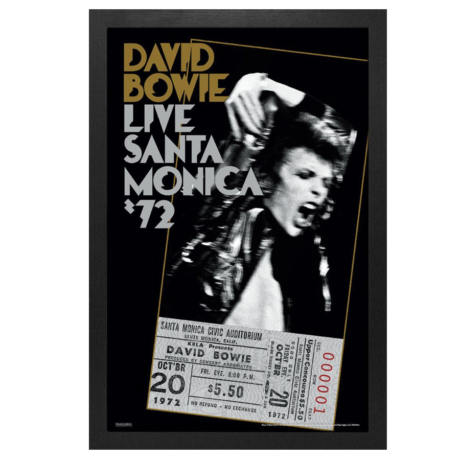 David-Bowie-Santa-Monica-Framed-Print