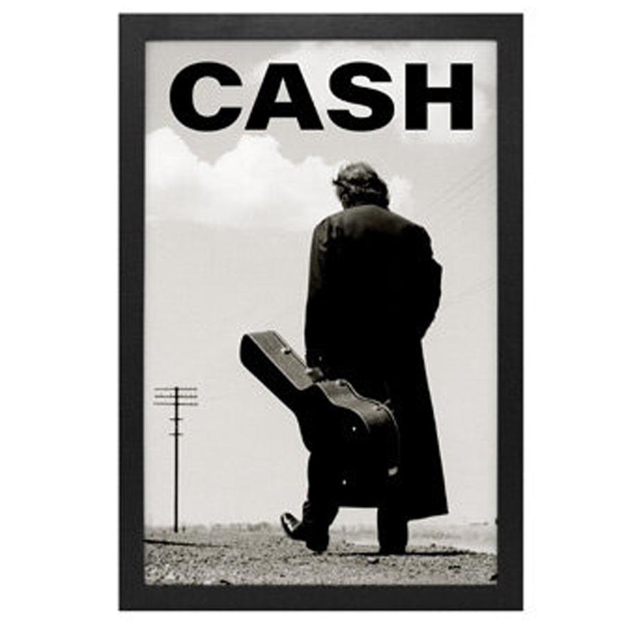 Johnny-Cash-The-Walk-Framed-Print