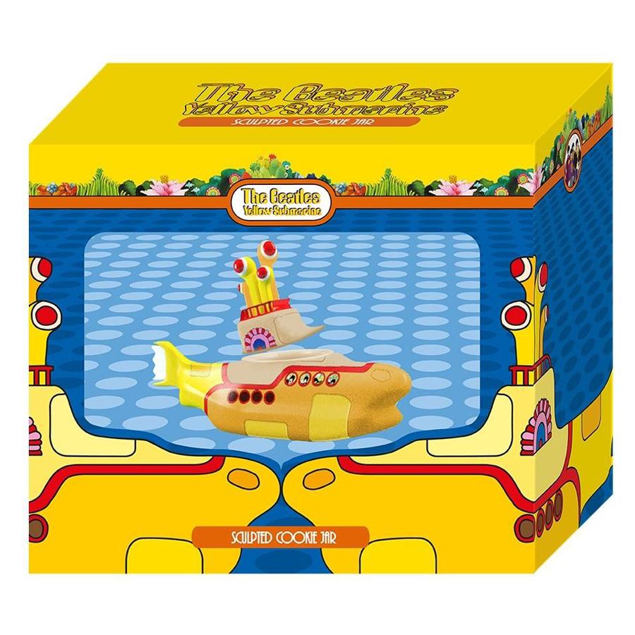 Beatles-Yellow-Sub-Cookie-Jar-box