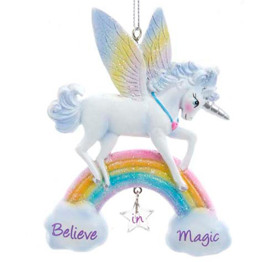 Unicorn-Ornament-Believe