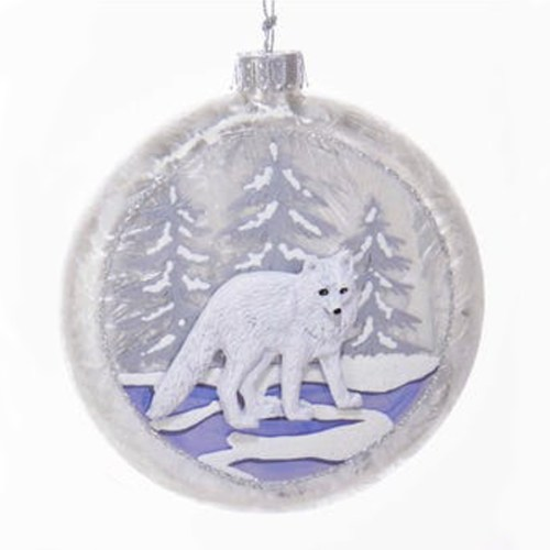 Wolf-Glass-Ornament