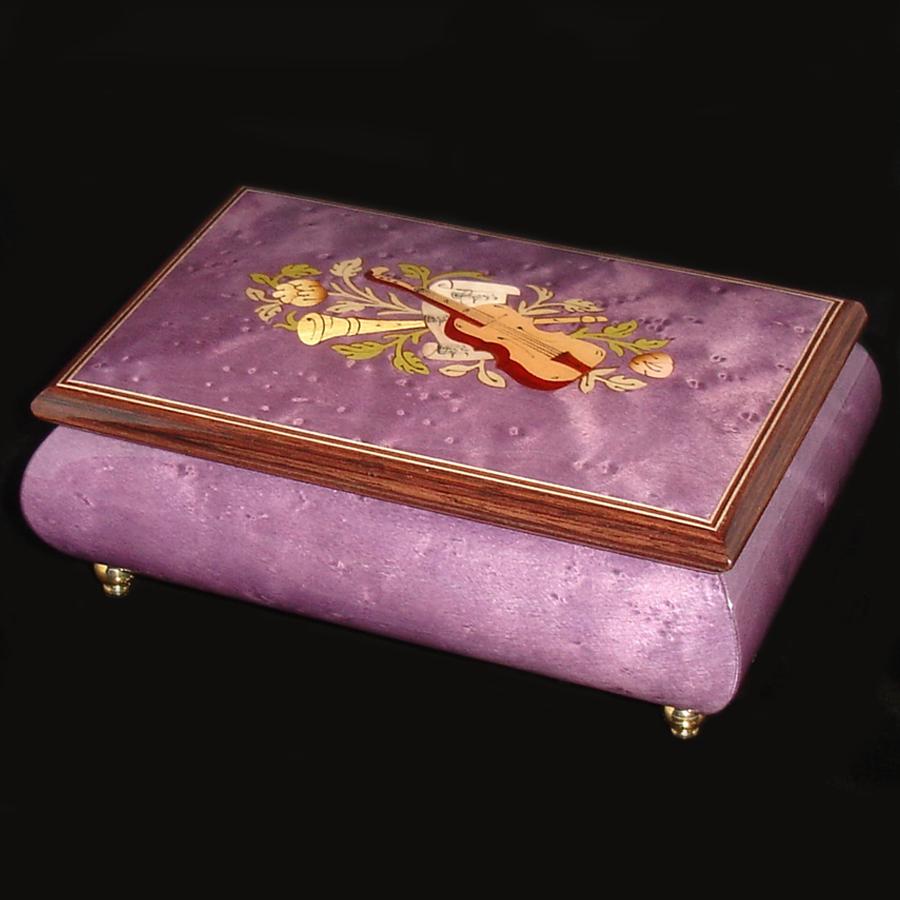 Italian-Inlay-Musical-Jewelry-Box-Plum