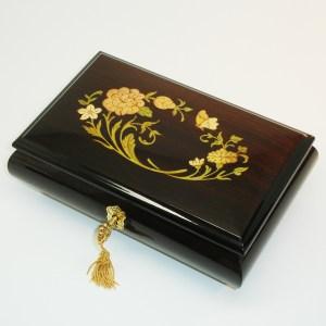 Italian-Inlay-Musical-Jewelry-Box-Rosewood