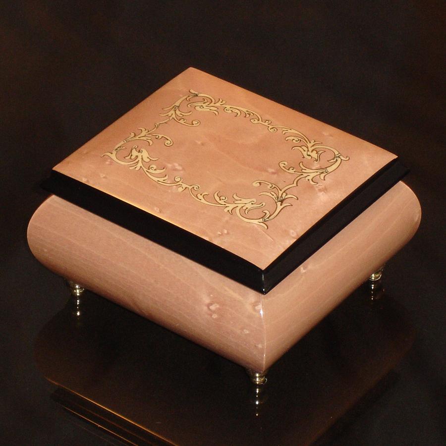 Italian-Inlay-Musical-Jewelry-Box-Peach