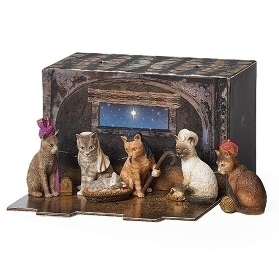 Cat-Nativity-Scene