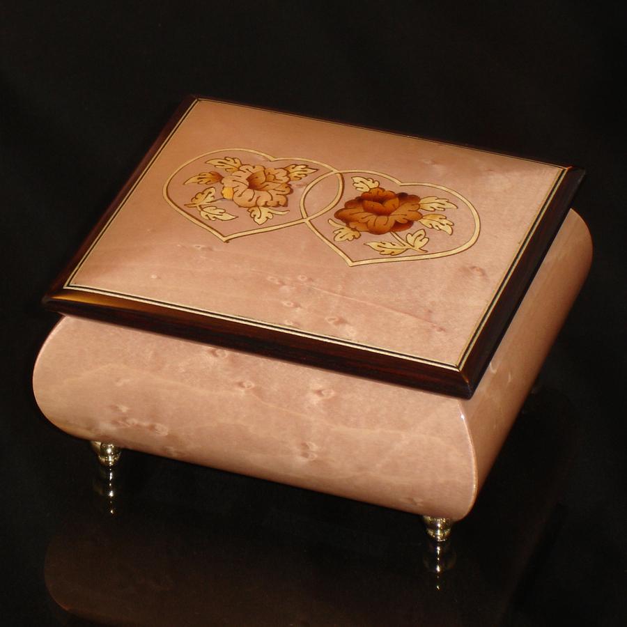 Italian-Inlay-Ring-Box-Pink-Double-Heart