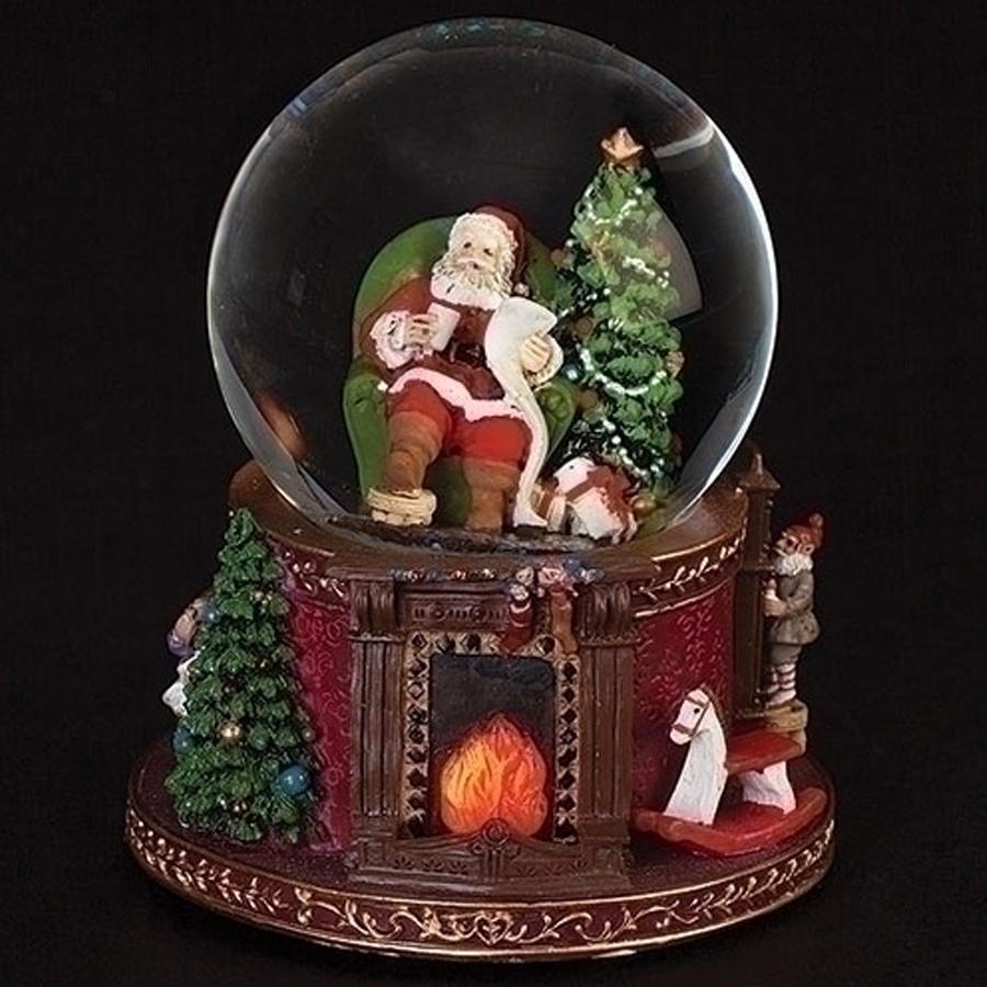 Santa-Fireplace-Snow-Globe