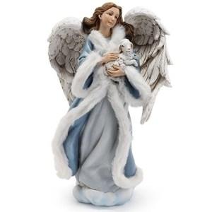 Angel-Blue-Robe-Lamb