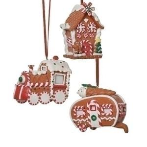 Gingerbread-Ornament-set