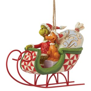 Grinch-Sleigh-Ornament-angle-view