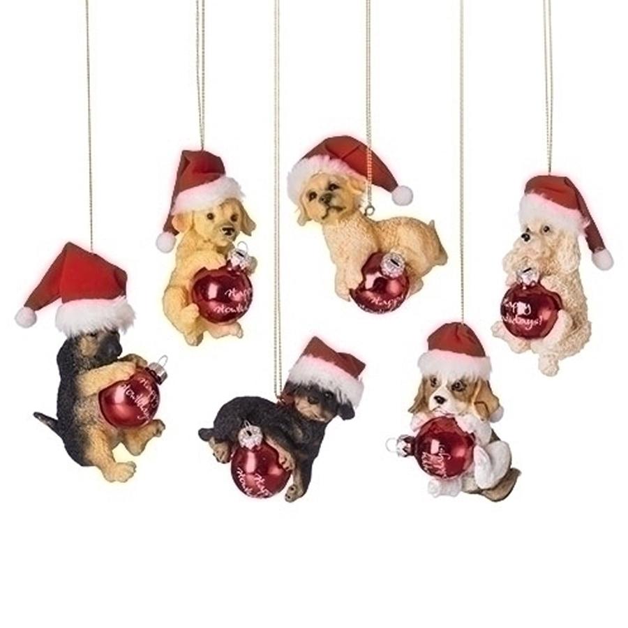 Puppy-Santa-Hat-Ornaments