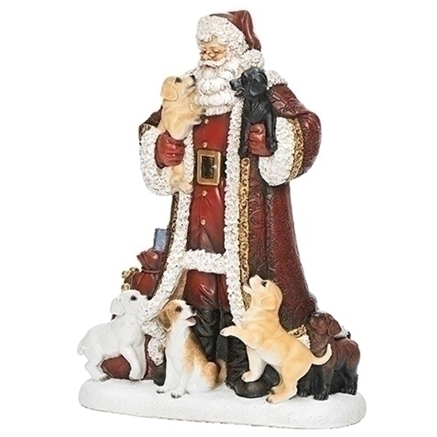 Red-Santa-With-Puppies