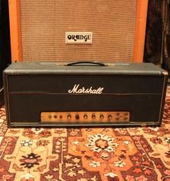 vintage 1969 marshall jmp super lead plexi 100w valve amplifier [ 2871 x 2870 Pixel ]
