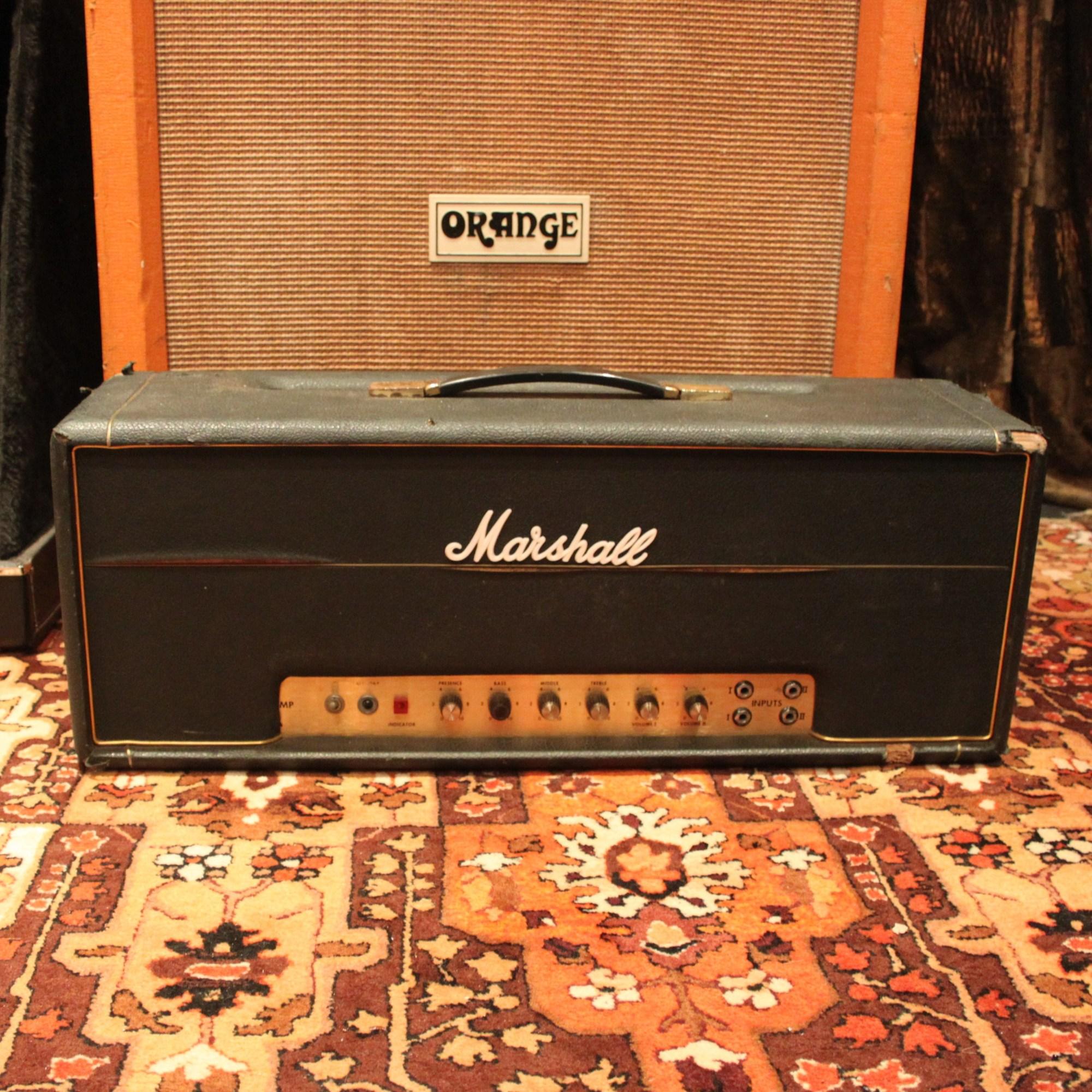 hight resolution of vintage 1969 marshall jmp super lead plexi 100w valve amplifier