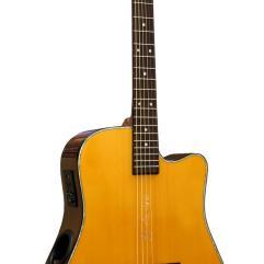 Boulder Creek Guitar, Solitaire Cutaway Spruce ECR2-V
