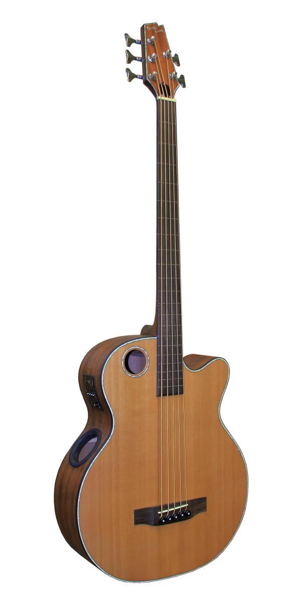 boulder creek guitar ebr3 n5f acoustic bass 5 string fretless the music motel. Black Bedroom Furniture Sets. Home Design Ideas