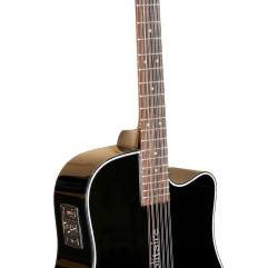 Boulder Creek Guitar, Solitaire Cutaway Spruce ECR1-B12