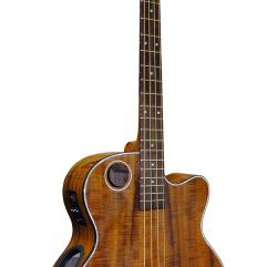 Boulder Creek Guitar, Acoustic Bass Koa EBR6-N4