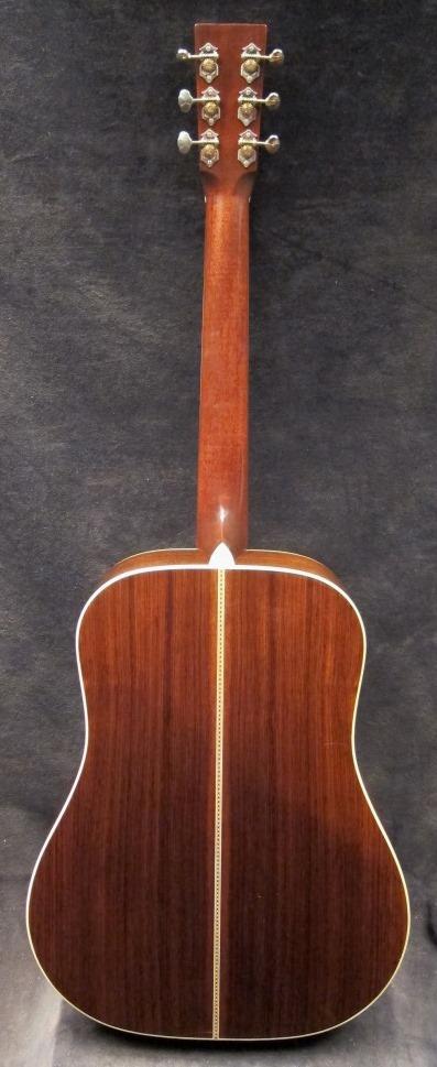 Santa Cruz Guitar Model D back