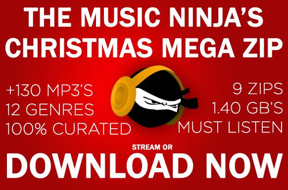 Download] The Music Ninja Christmas Mega Post (+130 MP3, 7 zip's +