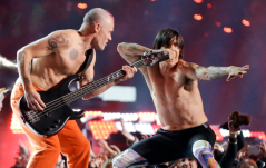 Red Hot Chilli Peppers lead the line up so far