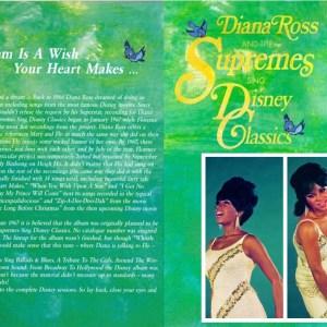 Diana Ross & The Supremes - Diana Ross & The Supremes Sing Disney Classics (UNRELEASED ALBUM) (EXPANDED EDITION) (1968 / 2021) CD