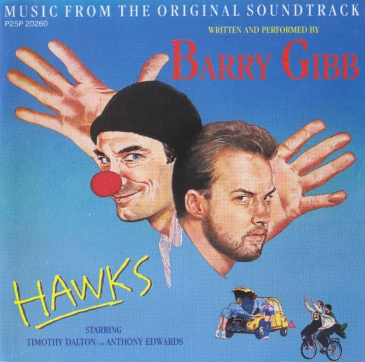 """Hawks"" - Original Soundtrack (Barry Gibb) (1988) CD 9"