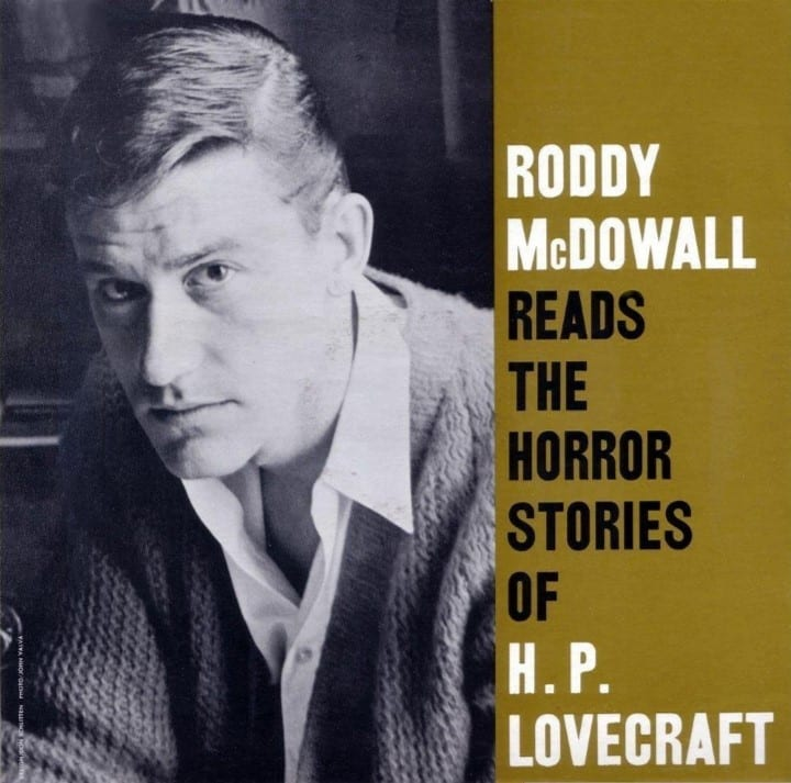 Roddy McDowall - Reads The Horror Stories Of H. P. Lovecraft (1962) CD 8