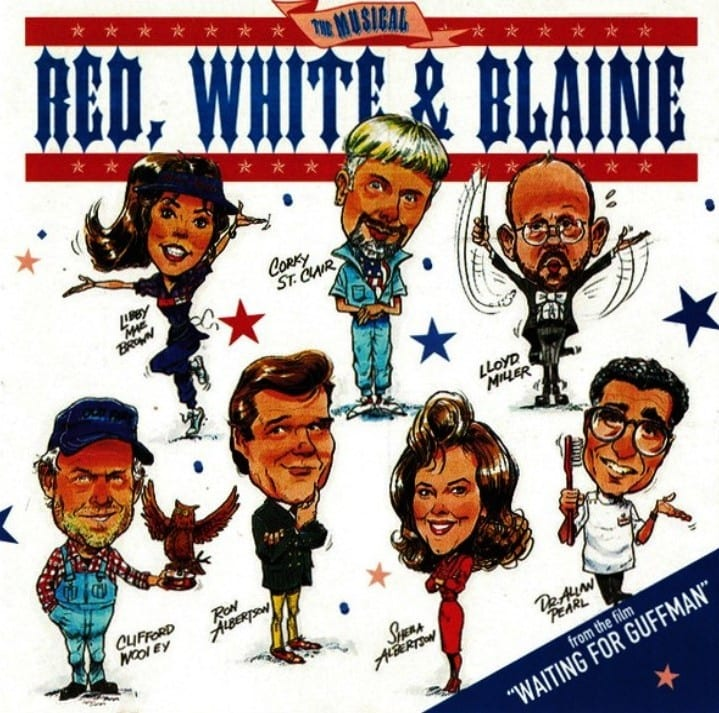 The Musical Red, White And Blaine (Waiting For Guffman) Original Soundtrack (PROMO ONLY) (1996) CD 5