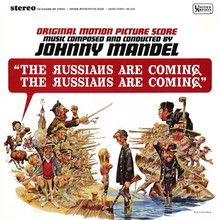 The Russians Are Coming, The Russians Are Coming - Original Soundtrack (1966) CD 6