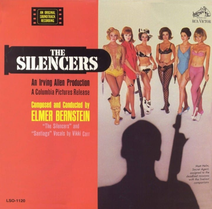 The Silencers - Original Soundtrack (1966) CD 7
