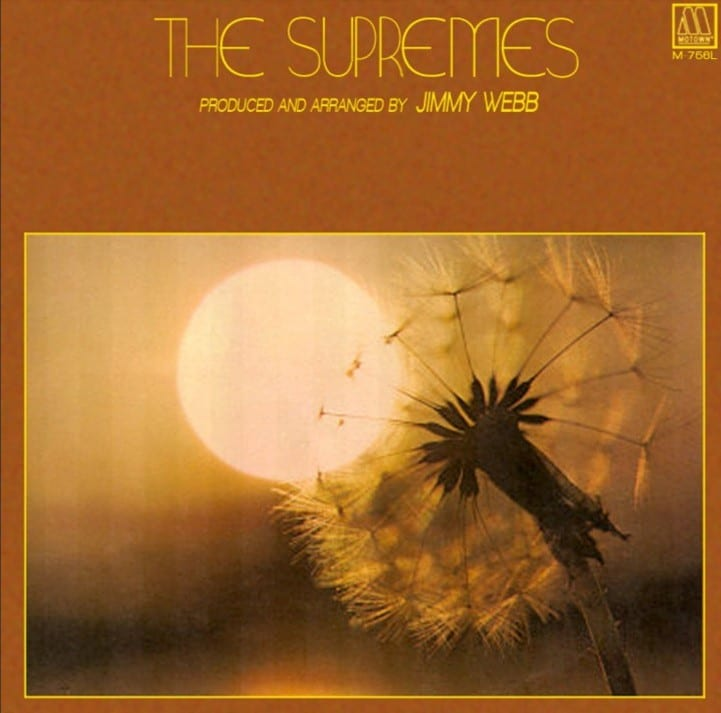 The Supremes - Produced And Arranged By Jimmy Webb (1972) CD 5
