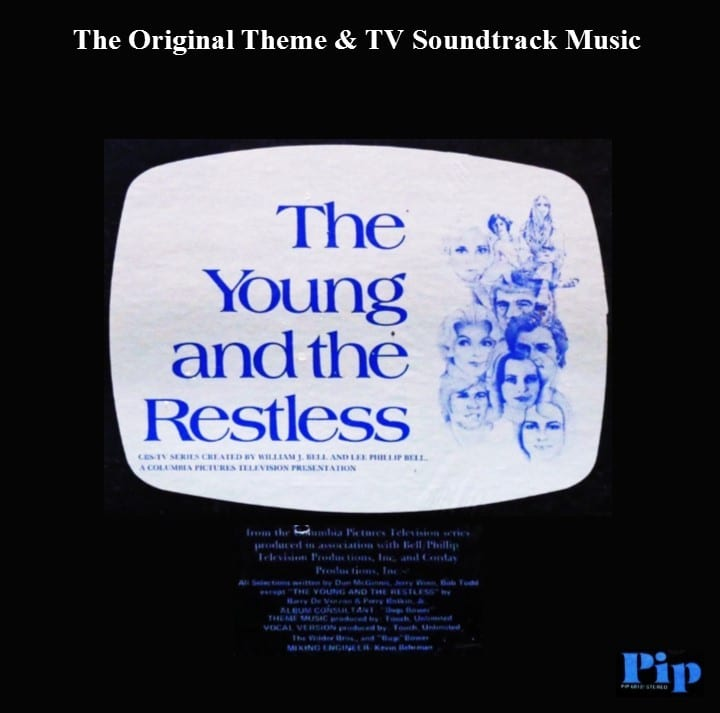 The Young And The Restless - The Original Theme & TV Soundtrack Music (1974) CD 10