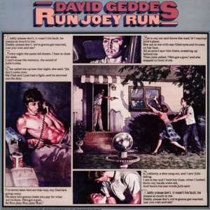 David Geddes - Run Joey Run (EXPANDED EDITION) (1975) CD 33