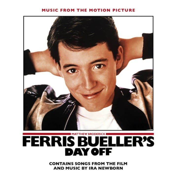Ferris Bueller's Day Off - Original Soundtrack (EXPANDED EDITION) (1986 / 2016) CD 7