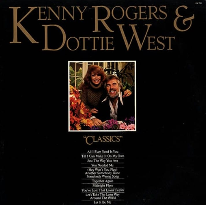 Kenny Rogers & Dottie West - Classics (1979) CD 7