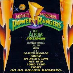 Mighty Morphin' Power Rangers - The Album A Rock Adventure (1994) CD 1