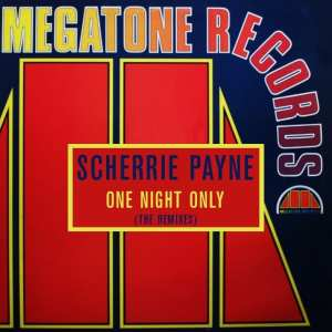 Scherrie Payne - One Night Only (The Remixes) (1984) CD 13