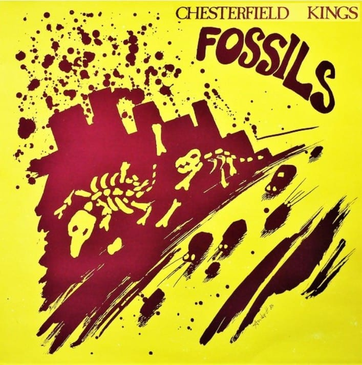 The Chesterfield Kings - Fossils (UNRELEASED) (1985) CD 9