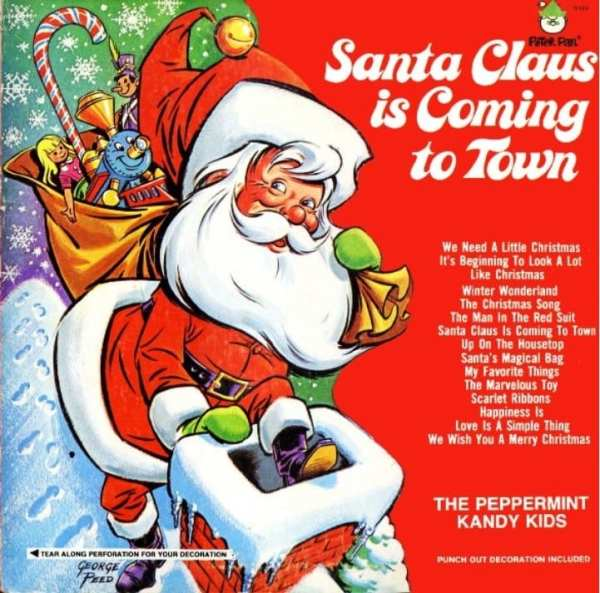 The Peppermint Kandy Kids - Santa Claus Is Coming To Town (1972) CD 1