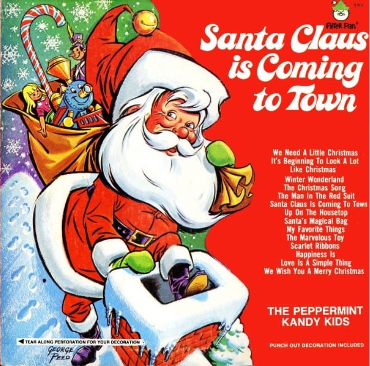 The Peppermint Kandy Kids - Santa Claus Is Coming To Town (CD) 3