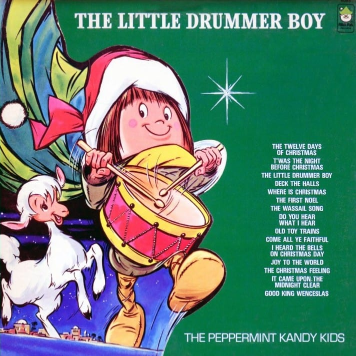 The Peppermint Kandy Kids - The Little Drummer Boy (Version 2) (1972) CD 5