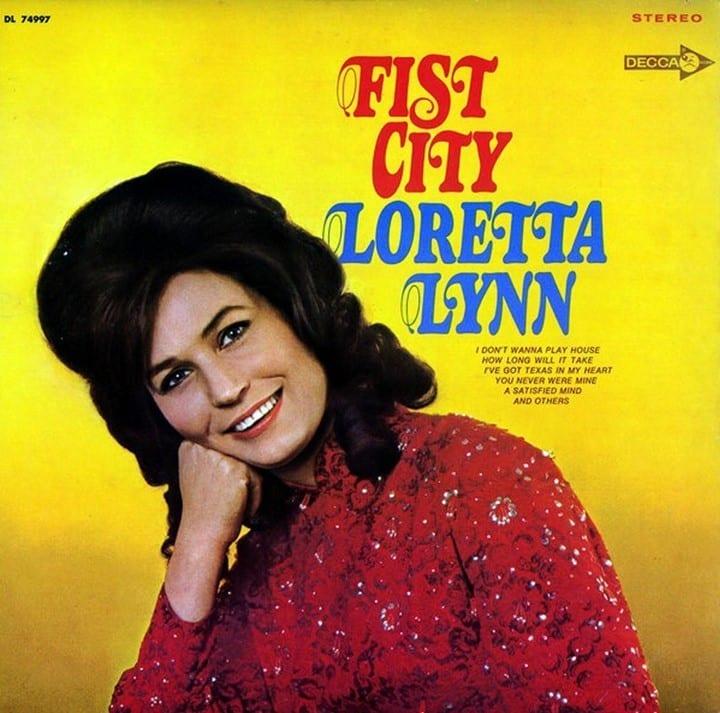 Loretta Lynn - Fist City (+ BONUS B-SIDE TRACK) (1968) CD 8