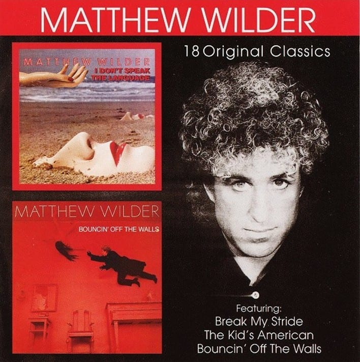 Matthew Wilder - I Don't Speak The Language (1983) / Bouncin Off The Walls (1984) (1999) CD 10