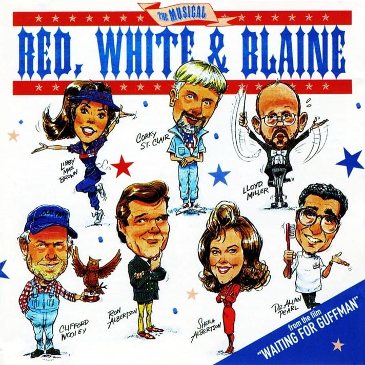 """Red, White And Blaine - The Musical (EXPANDED EDITION) (From The Film""""Waiting For Guffman"""") (PROMO ONLY) (1996 / 2020) CD 10"""
