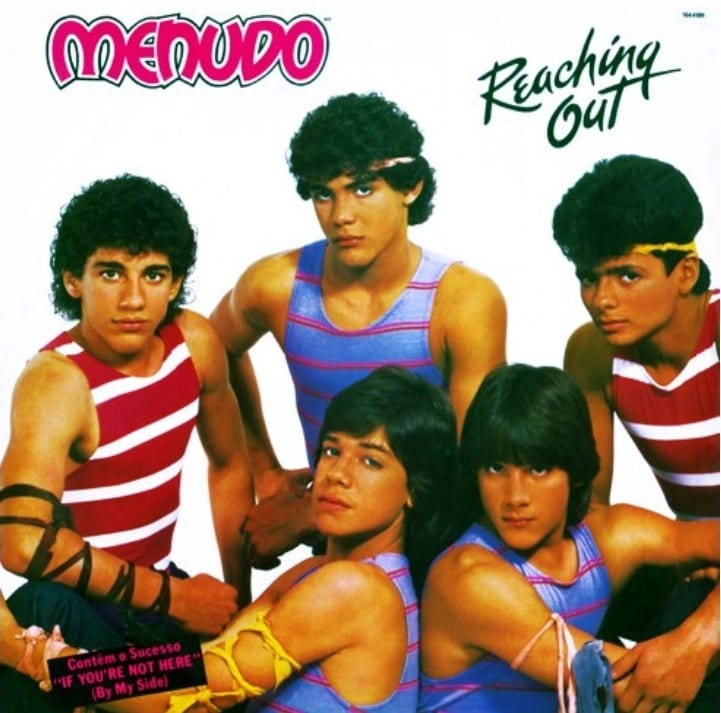 Menudo - Reaching Out (1984) CD 6