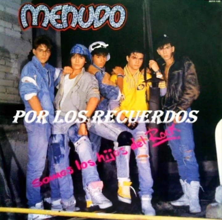 Menudo - Somos Los Hijos del Rock (We Are The Children Of Rock) (1987) CD 5